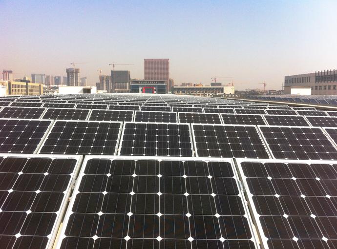 太阳能屋面支架系统