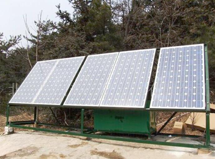 太阳能支架家用系统