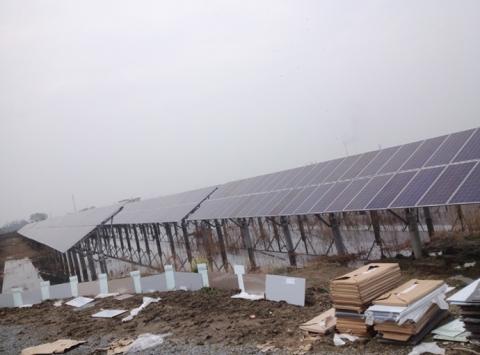 太阳能水面支架系统