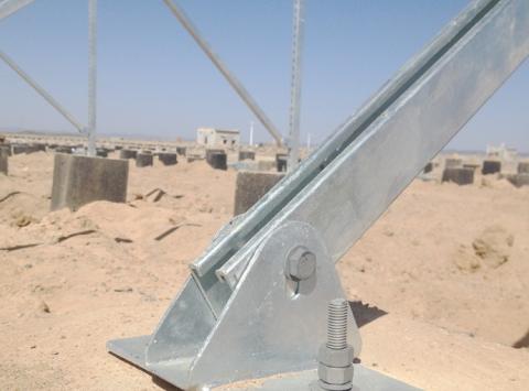 太阳能发电支架系统