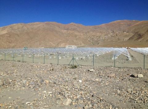 西藏地面支架项目