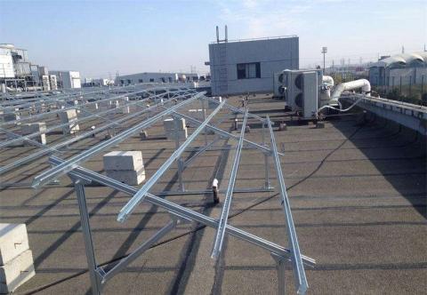 水泥平屋顶光伏支架(可调角度)